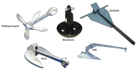 small boat anchor types selecting and setting an anchor the cps ecp boating resource