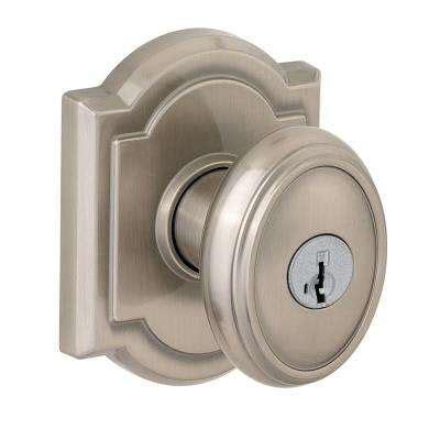 nickel door knobs hardware hardware the home depot