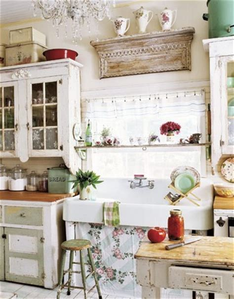 country chic kitchen ideas ideas for decorating a shabby chic kitchen rustic crafts