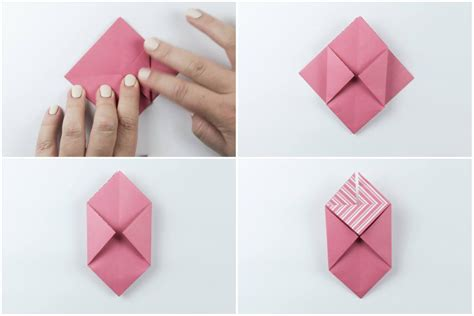 Origami Open Box - origami open box with flaps tutorial