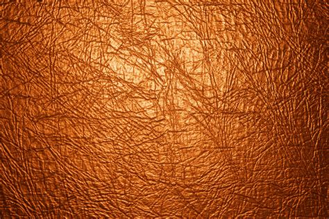 Orange Leather by Orange Leather Texture Up Picture Free Photograph