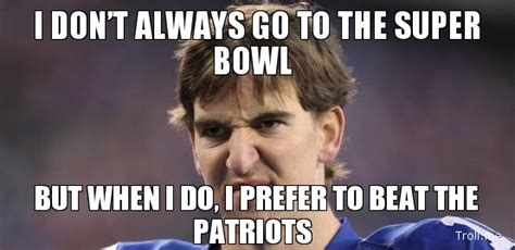 Eli Manning Super Bowl Meme - i m worried about doing my best playing to my by eli