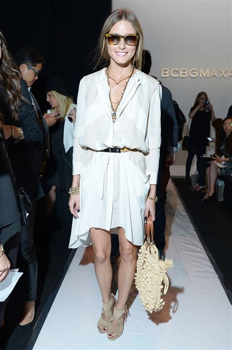 Heat Up Bcbg Front Row by Palermo Hit Bcbg Max Azria Looking Fresh In A White