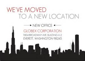 New Business Announcement by City New Office Business Moving Announcement Business