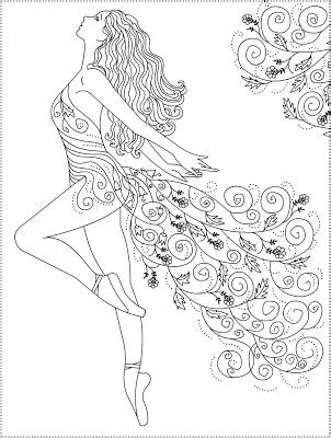 ballerina coloring pages for adults nicole s free coloring pages ballerina primavera ballet