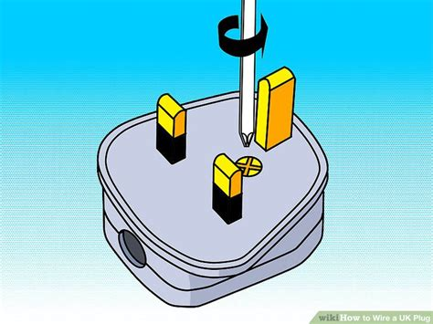 how to wire a uk 12 steps with pictures wikihow