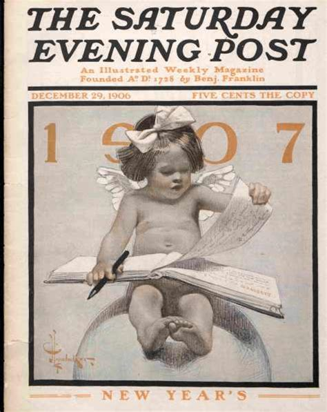 new year saturday new year s babies the saturday evening post