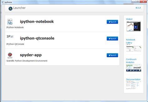 Python Launcher Notebook quettar