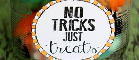 No Tricks All Treats by Craft How To Make A Quot No Tricks Just Treats