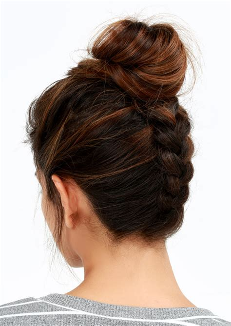 cute hairstyles you can sleep in reverse braided bun easy back to school hairstyles to