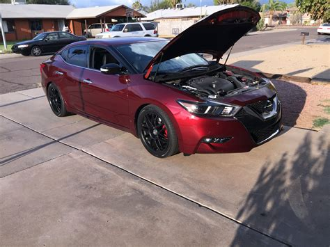 custom nissan maxima custom back with 40 series flowmater maxima forums