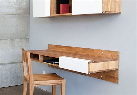 Wall Mounted Desk by 17 Wall Mounted Desks To Make The Most Of Your Small Space