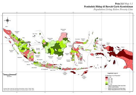 Gambar Bps peta kependudukan peta tematik indonesia