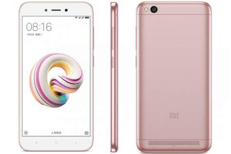 Dan Spesifikasi Hp Xiaomi ulasan spesifikasi dan harga hp android xiaomi redmi 5a