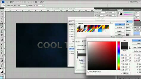 photoshop tutorial quick cool photoshop tutorial create a quick title header