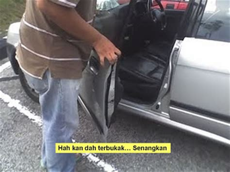 Cermin Tepi Viva starting automobil curi kereta dan hijack alarm