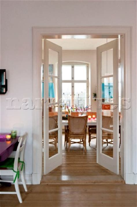 dining room doors pe087 29 view through doors to dining room in