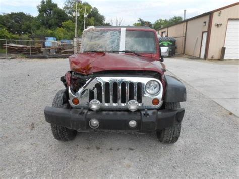 Wrecked Jeep Wrangler For Sale   Motorcycle Review and