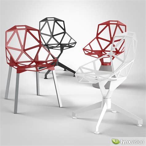 chair one chair one magis 3d model max obj fbx cgtrader