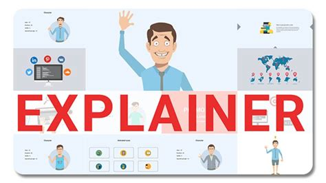 Explainer Video Toolkit 19249785 After Effects Template Youtube Free Explainer Templates