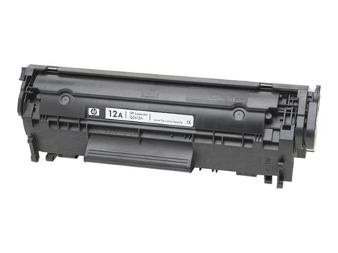 Printer Hp Q2612a q2612a hp 12a black original laserjet toner cartridge q2612a currys pc world business