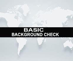 Basic Criminal Record Check Basic Background Check