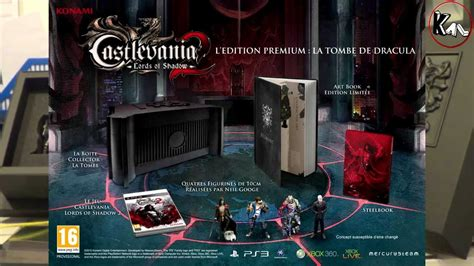 time to play castlevania 2 unboxing castlevania lords of shadow 2 collector euro