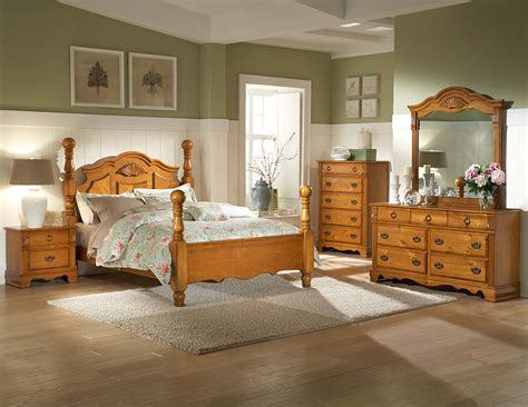 homelegance archdale bedroom set pine b2139 bed set