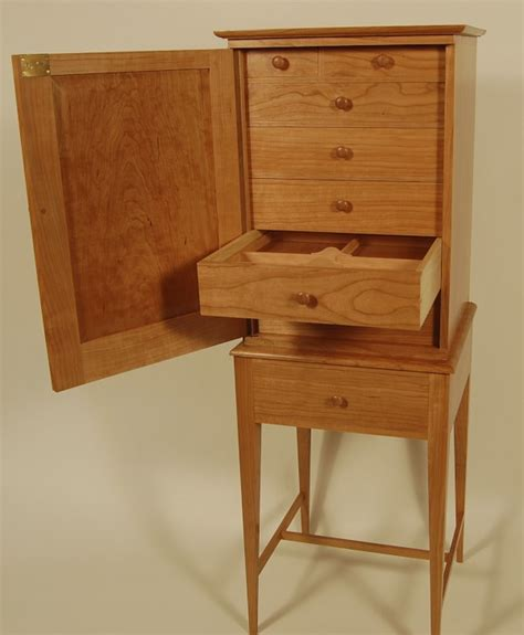 shaker style armoire shaker style jewelry armoire