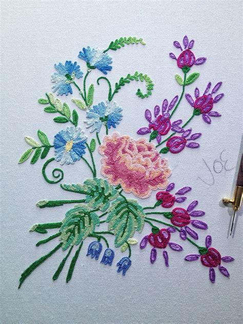 Point De Beauvais finished point de beauvais embroidery stiches