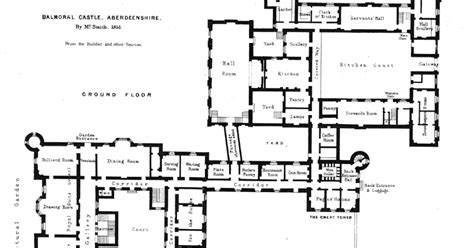 houses of state balmoral castle floor plans the