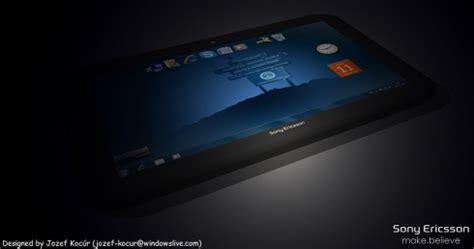 Tablet Sony Erikson sony ericsson irikino yanq xl tablet concept looks great concept phones