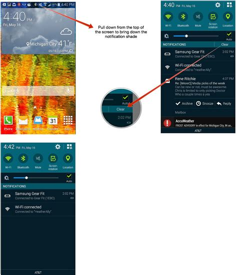 adchoices removal android how to check and dismiss notifications on the samsung galaxy s5 android central