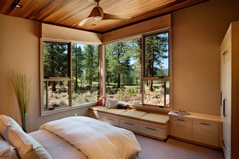 earthy bedroom 10 stunning rooms with a window seat