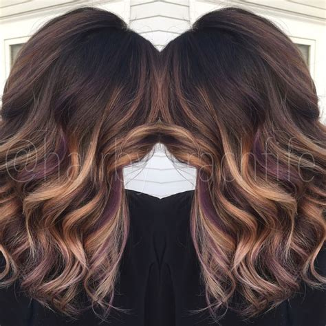 peek a boo color highlights best 25 peekaboo highlights ideas on peekaboo