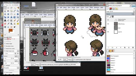 gimp tutorial image manipulation gimp tutorial sprite editing tricks and tips youtube