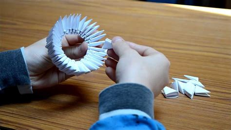 tutorial de origami 3d origami 3d le chien tutorial youtube