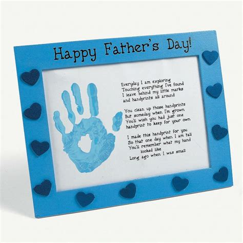fathers day crafts s day handprint poem fathers day