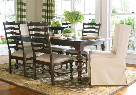 paula deen dining room set paula deen home tobacco rectangular extendable dining room set from paula deen 932653