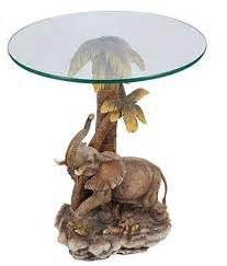 Elephant Table L 26 Quot H Jungle Elephant Theme Table Kitchen Dining