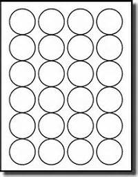 Avery Template 5293 by 2 400 1 5 8 Diameter Labels For Laser And Inkjet