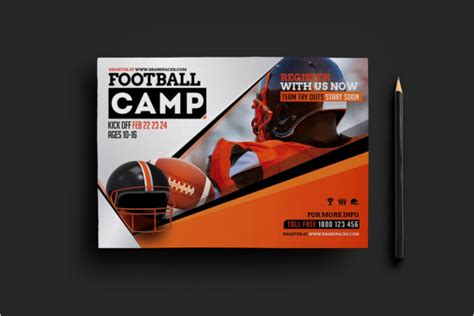 football flyer template football flyer templates free premium templates