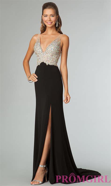 Black Gold Sequin Dress W8242usi D black in black gold dresses sequin prom gowns jvn