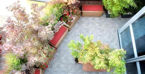 terrazzo zen un terrazzo in stile giapponese