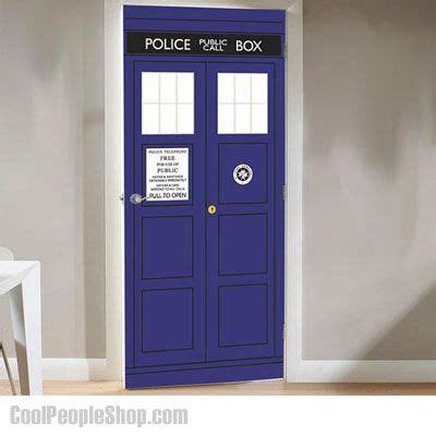 49 99 Doctor Who Tardis Door Decal Cool People Shop Bbc Tardis Interior Door
