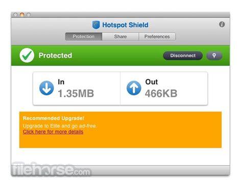 hotspot shield mac full version hotspot shield 2 0 6 download for mac filehorse com