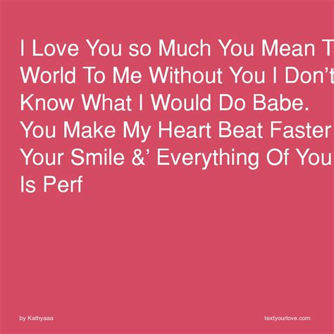 fast what do you mean to me quotes