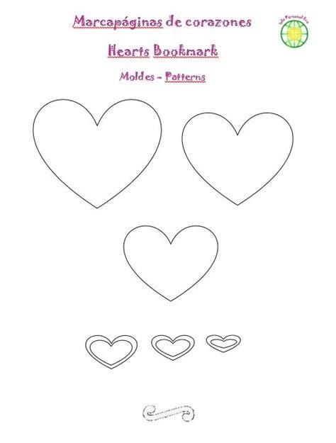 dulcero de corazon en fomi bbarte1blogspotcom moldes del marcap 225 ginas de corazones en goma eva