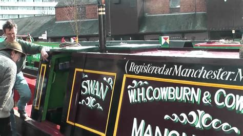swan narrow boats gardner 4vt in narrowboat swan youtube