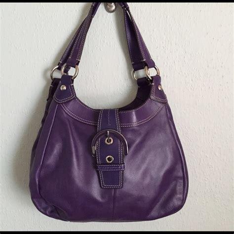 Promo Palomino Handbag Plum 67 coach handbags coach soho plum purple leather hobo handbag exc from andrea s closet on